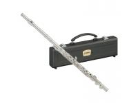 """Yamaha YFL-282  Con todas las lecciones que Yamaha aprendió durante el proceso de desarrollo y perfeccionamiento de las flautas """"hechas a mano"""" y profesionales, las flautas intermedias y estándar tienen esta misma esencia y diseño. Son flautas diseñadas para principiantes, colaboran con un aprendizaje rápido, ofrecen una jugabilidad más avanzada y excelentes respuestas con cualidades tonales."""