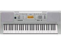 Teclado Yamaha YPT-340O YAMAHA YPT-340 irá reproduzir com fidelidade cada nuance do seu estilo de piano.573 Sons de qualidade elevada150 Tipos diferentes de arpeggio158 Estilos automáticos de acompanhamento