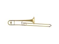 """Yamaha YSL-891 Z  O YSL-891Z foi desenvolvido com Wycliffe Gordon e Andy Martin. É um novo trombone de pequeno diâmetro que lembra um pouco o design clássico do King. Ele possui um escorregador de bronze com diâmetro de .508 """"e um sino de latão martelado a mão de 8""""."""