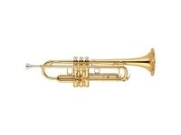 Yamaha YTR-6345 G  La trompeta de gran diámetro Yamaha YTR - 6345G es un modelo profesional de peso medio. Perfecto para cualquier configuración de estudio para big band, banda de concierto, grupo de cámara u orquesta: esta trompeta confiable tiene una musicalidad completa. Con un gran agujero y una campana de bronce dorado que en conjunto producen tonos cálidos, ricos y dominantes. La trompeta Yamaha es el instrumento ideal para alguien que necesita versatilidad en su bocina.