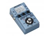 Pedaleira Multi-Efeitos Zoom Multi Stomp MS-70 CDR  Com o Zoom MS-70 conseguem ter, num único pedal com tamanho standard, mais de 80 efeitos disponíveis para explorar. Com 50 patches programáveis e 30 presets já disponíveis, o Zoom MS-70 é um excelente aliado à criação e à portabilidade.