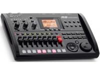 """Zoom R8   Zoom R8  - Rangos físicos: 8  - Grabación simultánea de pistas: 2  - Reproducción simultánea de pistas: 8  - Formato de datos de grabación: 44,1 / 84kHz, WAV de 16/24 bits  - Tiempo máximo de grabación: 200 minutos / GB (44.1kHz 16 bits, pistas mono)  - Proyectos: 1000  - Marcadores: 100 por proyecto  - Otras funciones: Punch-In / Out (manual o automático), Bounce, Marker, AB Repeat, UNDO-REDO, Metronome  - Canales de entrada: 2  - Canales de salida: 2  - Cuantización: 24 bits  - Frecuencia de muestreo: 44.1 / 48 / 88.2 / 96kHz  - Faders: 9  - Nivel del medidor: LCD de 19 pasos, post-fader  - Parámetros de rango: ecualizador de 3 bandas, Pan (ecualización), Envío de efectos x 2, Invertir  - Algoritmos: 8 (limpio, distorsión, acero / bajo sí, bajo, micrófono, micrófono dual, estéreo, masterización)  - Tipos: 146  - Módulos: 7 para insertar, 2 para enviar / devolver  - Parches: 310 para insertar, 60 para enviar / devolver  - Sintonizador: cromático, guitarra, bajo, modo abierto A / D / E / G  - Formato de fecha de reproducción: 44.1 / 48kHz, WAV de 16/24 bits  -Voces: 8  - Funciones de edición: Trim, Time-Stretch  - Voces: 8  Formato de sonido: PCM lineal de 16 bits  - Kits de batería: 10  - Almohadillas: 8  - Precisión: 48PPQN  - Patrones de ritmo: 511 / diseño  - Estándares: 511 (472 fabricados, 39 en blanco) / diseño  - Batir: 1/4? 8/4  Medios de grabación: tarjetas de memoria SD (16 MB - 2 GB), SDHC (4-32 GB)  - 128 - Pantalla LCD de 64 píxeles (con luz de fondo)  - Micrófonos incorporados  - Potencia del modo """"Phantom Power"""": 48 V, 24 V  - entrada USB"""