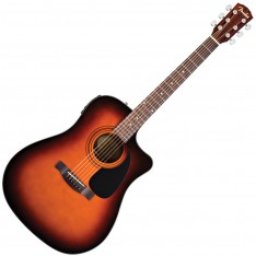 Guitarra Dreadnought Fender CD-60 CE SB