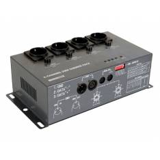 Lights Controller con 4 canales (4X5A) DMX HQ Power VDPDP152